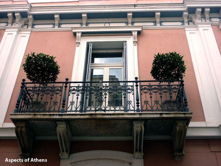 neoclassical building in Frinichou street