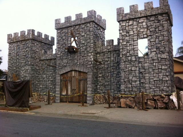 How Do I Build A Fake Castle Front For My House At