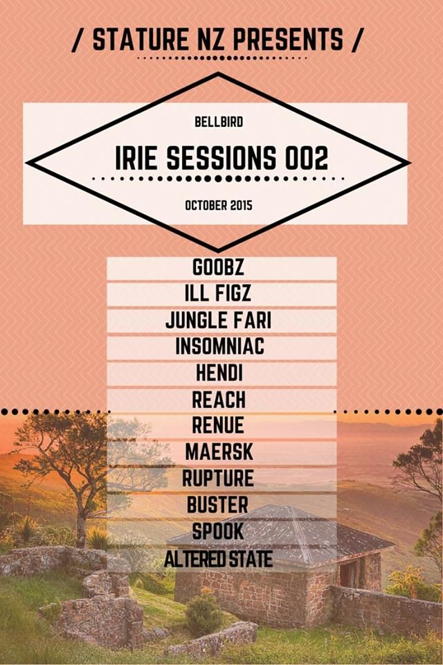 IRIE SESSIONS 002