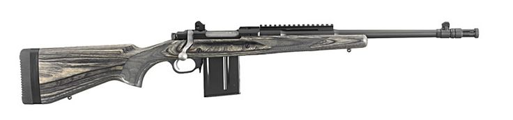 Ruger Gunsite scout 308 rifle extremely accurate out of the box ...wish they would produce some more