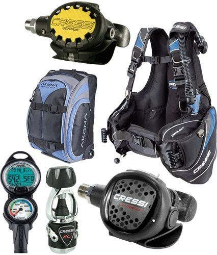 Cressi Travelight BCD Scuba Diving Gear Travel Package Set - Limited Quantity (BCD Size: Large) -- Read more reviews of the product by visiting the link on the image.