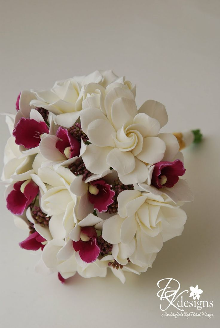 DK Designs: Gardenias and Purple Crown Orchids