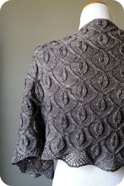The Secret Garden Shawl by Alana Dakos