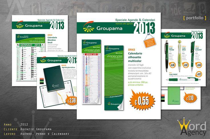 Agenzie Groupama - Agende, penne e calendari
