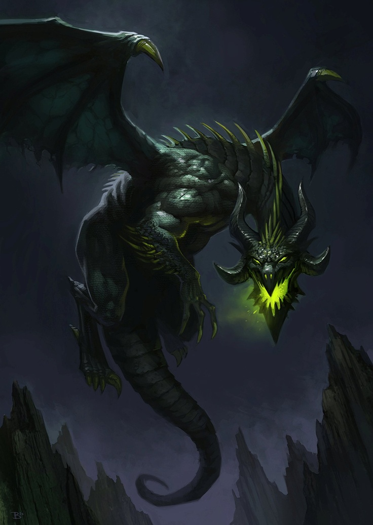 Whenever a dragon breathes, light will fill the everlasting darkness