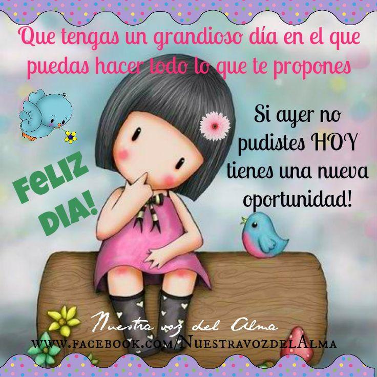 Feliz Dia www.facebook.com/NuestravozdelAlma