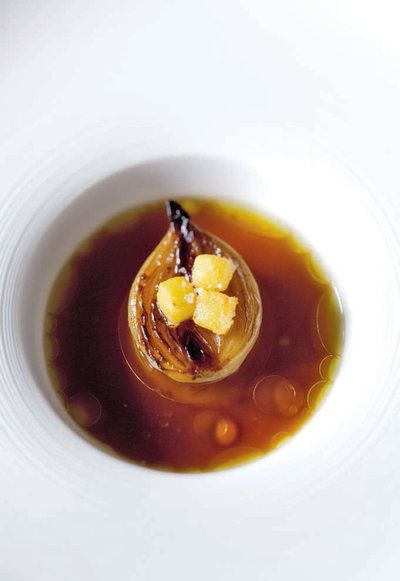 """soupe à l'oignon """"Gratinée des Halles"""""""