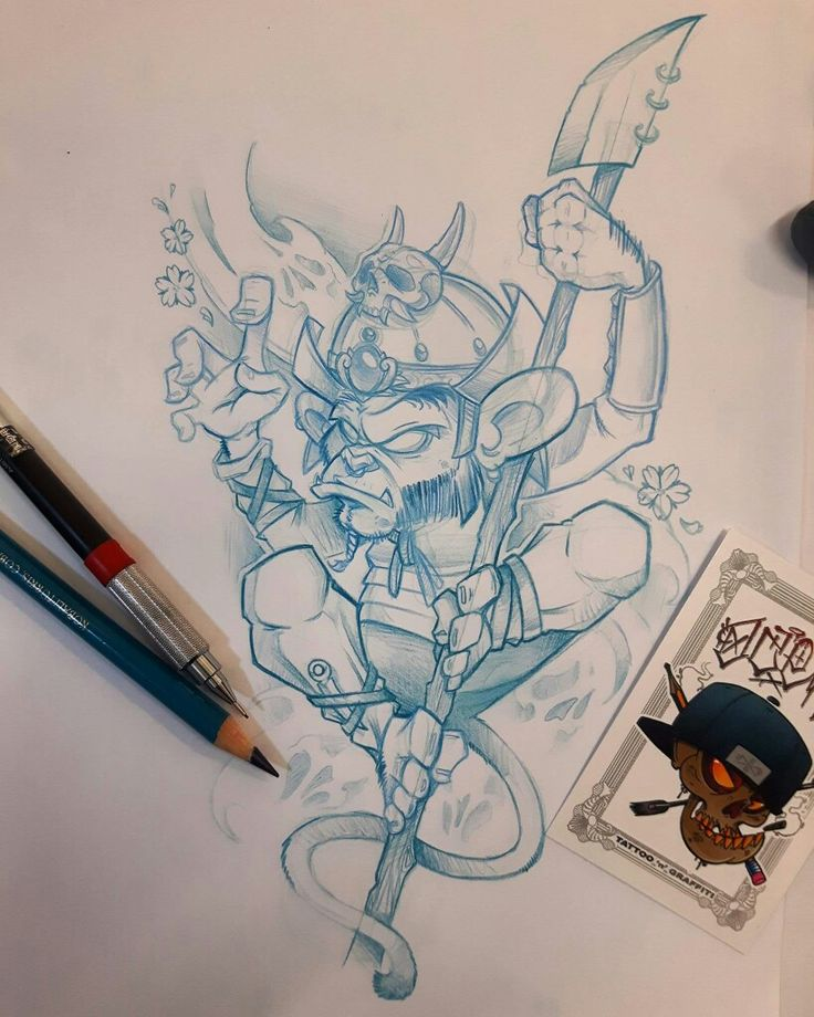Sketches, Graffiti Characters