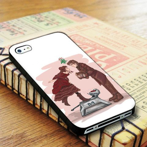 Doctor Who Matt Smith With Clara 11th iPhone 4|iPhone 4S Case