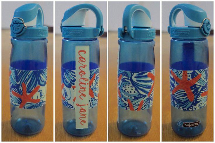 Painted Nalgene Water Bottle Lilly Pulitzer She She