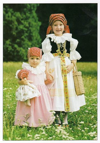 Moravian costume, Moravia, Czech Republic   - Explore the World with Travel Nerd Nici, one Country at a Time. http://TravelNerdNici.com
