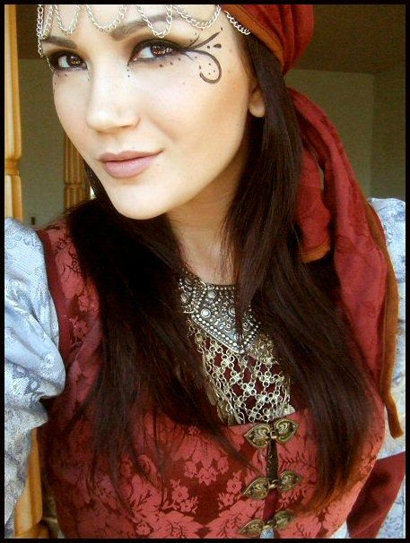 Silliness by ~thebitingfaery on deviantART Gypsy makeup
