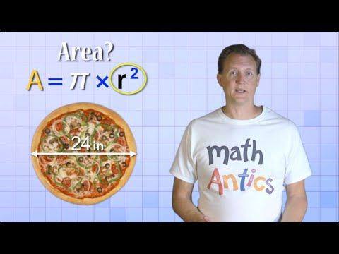 Use graph paper to demonstrate the ratio of PI for both Circumference and Area. Refer to the demonstration of Circumference performed for you in the last Math Antics Video, What is PI? Use that demonstration to come up with your own for the ratio of PI when calculating the Area of a circle.