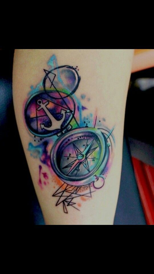 Water color tattoo