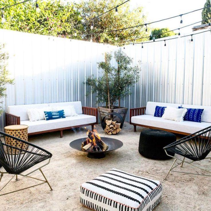 Backyard Oasis Ideas: Best 25+ Metal Fire Pit Ideas That You Will Like On