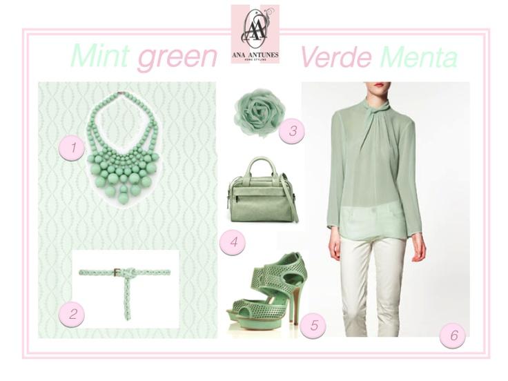 pastel, mint green, mint necklace