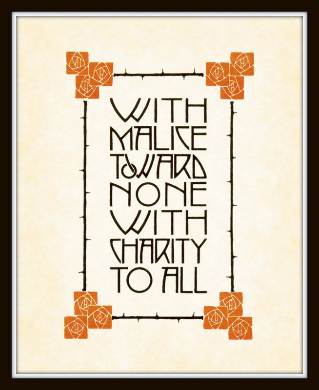 Vintage Arts And Crafts Mission Style Quote Art Print 8 X