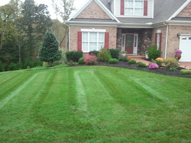 Lawn 1 in Forest, Va. - Best 8 Lawns Maintained By A Cut Above Landscaping Images On