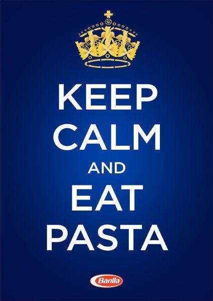 Keep calm and eat pasta - Barilla US