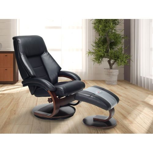 Groovy 251 First Selby Top Grain Leather Manual Recliner W Ottoman Pdpeps Interior Chair Design Pdpepsorg