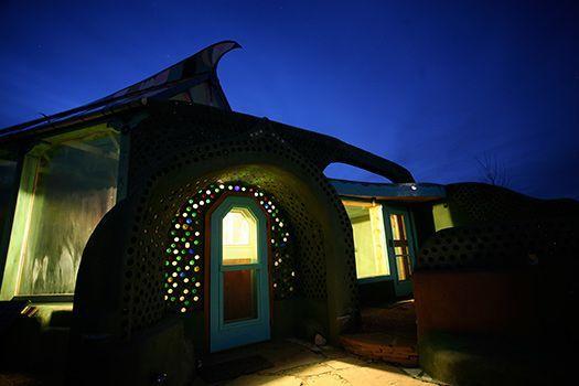 Earthship Biotecture, Phoenix Earthship  Taos, New Mexico