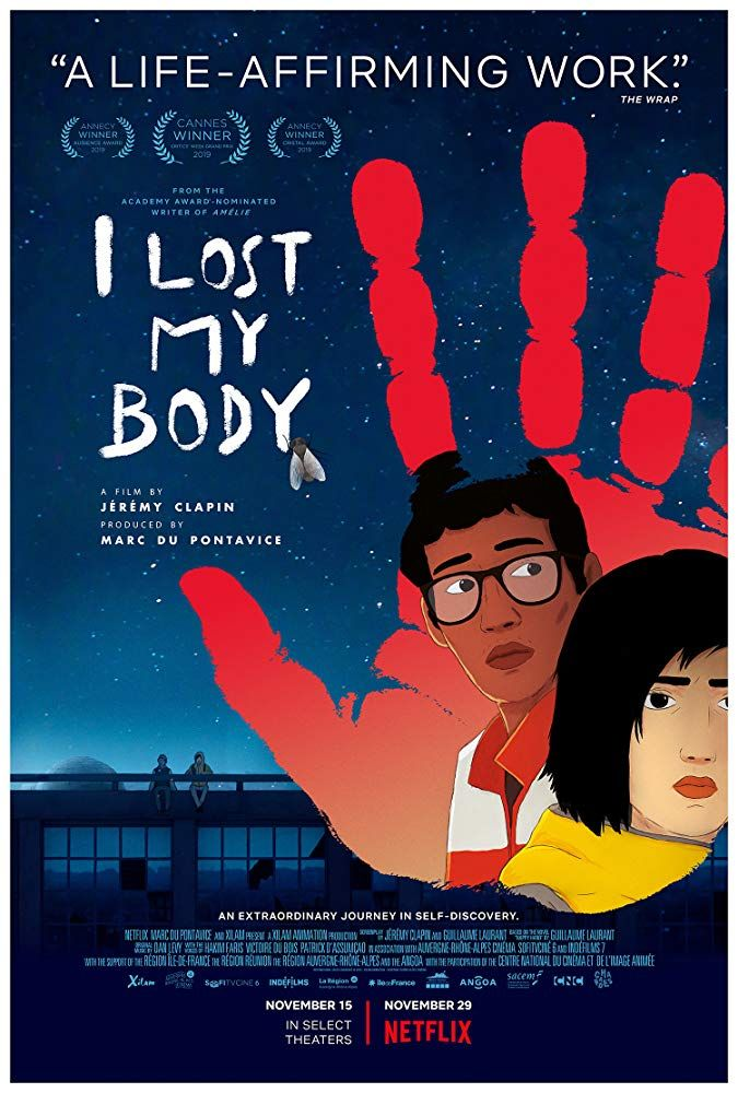 I Lost My Body 2019 Film Summary In 2020 Body Movie Animated Movies Losing Me