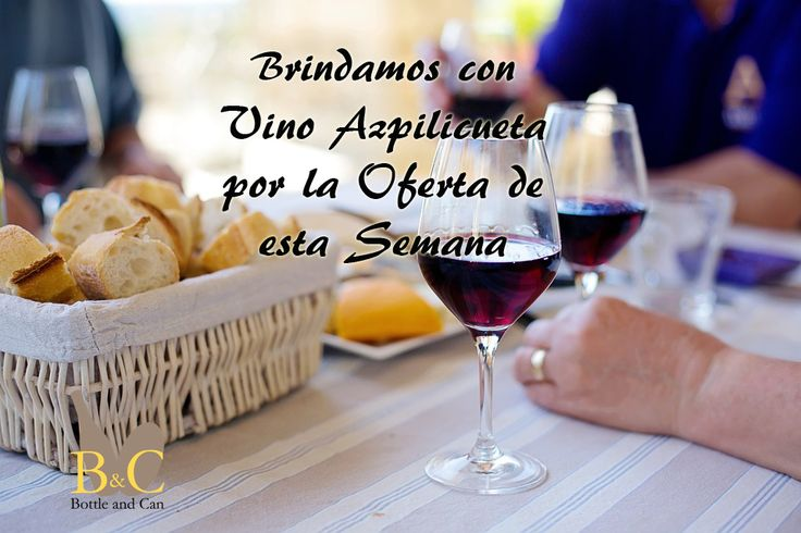 ¡¡ NUEVA OFERTA DE LA SEMANA !! La OFERTA comprende 3 Botellas de #Vino #AZPILICUETA Tinto Crianza 75 cl. + REGALO 1 Bomba de Vacío + Tapón para #Botella de Vino METALTEX. http://tienda.bottleandcan.com/es/ Válida hasta el Domingo 20/11/2016 o hasta Fin de Existencias. #tiendaonline #gourmet #bottleandcan #Granada #andalucía #españa #spain #oferta #ofertas #vinos #wine #winelover