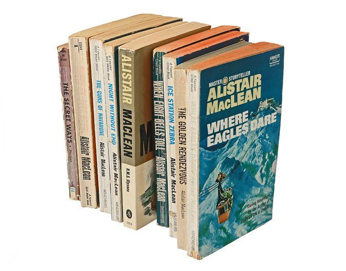 In Praise of Alistair MacLean and the Male Romance - The New York Times