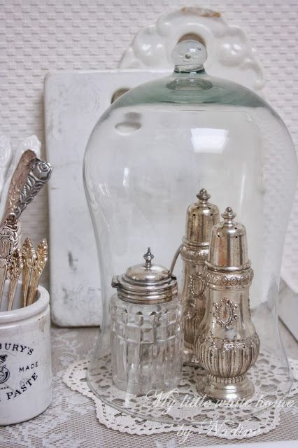 Lovely sugar casters.. My little white home by Nadine: Sierlijke vondsten
