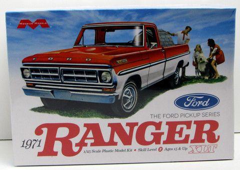 1971 Ford Ranger Pickup XLT Moebius #1208 1/25 Scale New Truck Model K – Shore Line Hobby