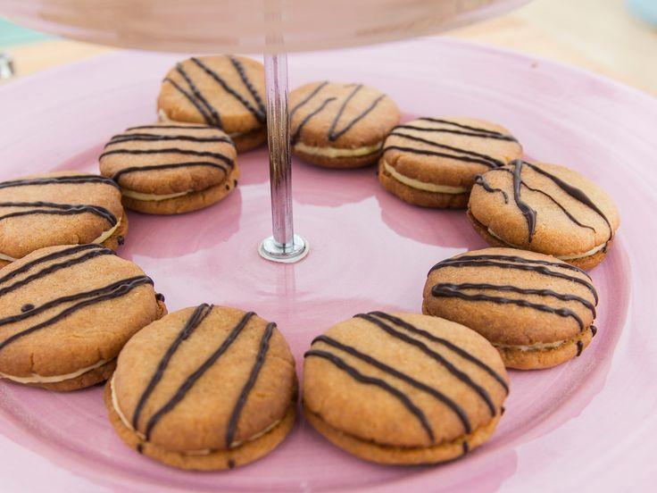 Vaniljkakor med vaniljkräm | Recept från Köket.se