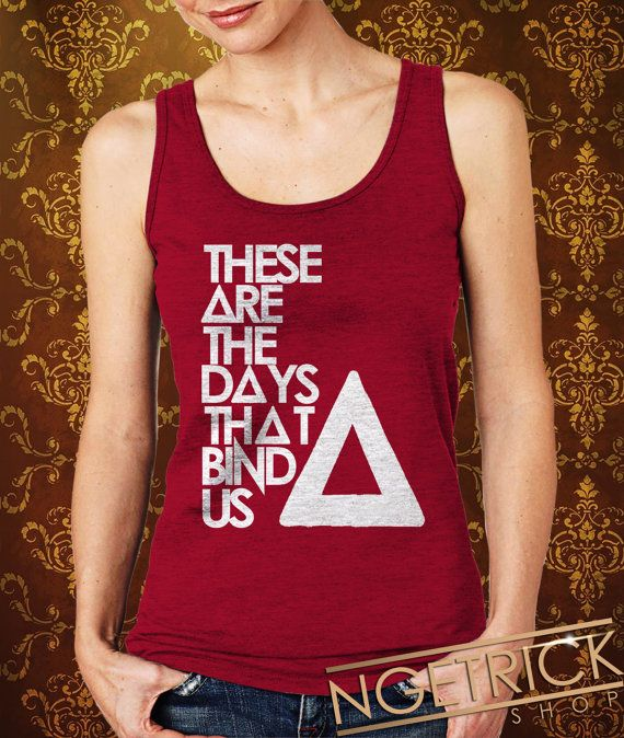 These Are The Days That Bind UsBASTILLE Women's Tank  by Ngetrick, $20.50