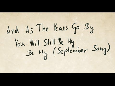 JP Cooper - September Song (Lyrics with my ugly handwriting)