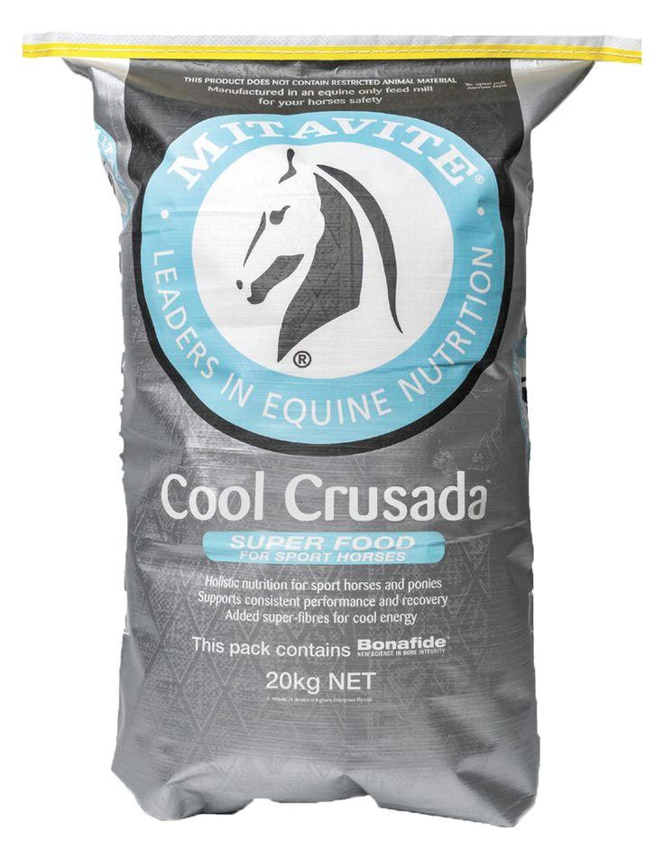Mitavite Cool Crusada - Super Food for Sport Horses #mitavite #coolcrusada #superfood #sporthorses #horsefeeds #horses #equine #equestrian