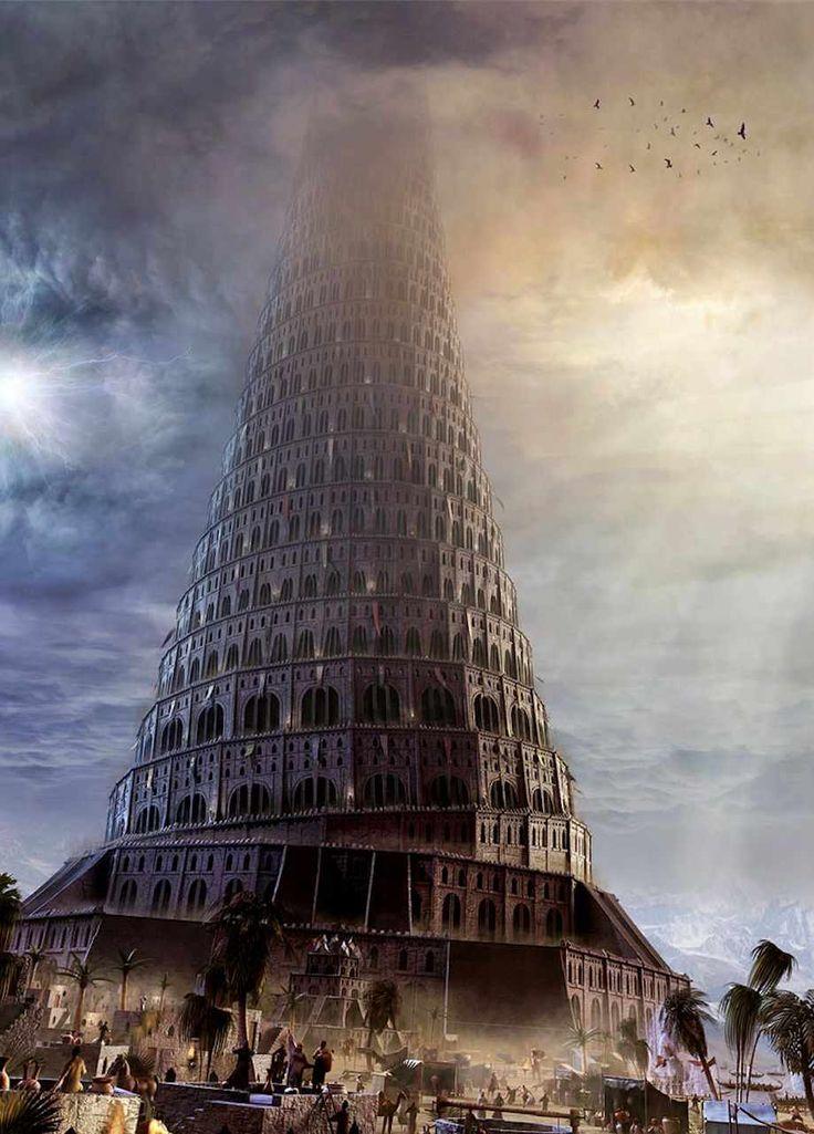 RENOVAÇÃO: Torre de Babel realmente existiu, afirmam pesquisa...