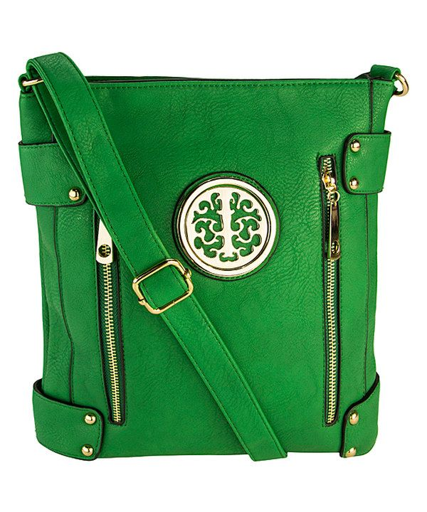 Look at this MKF Collection Green Fanisa Crossbody Bag on #zulily today!