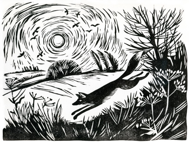 linocuts and woodcuts Celia Hart
