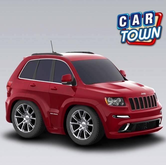 ¡El Jeep Grand Cherokee SRT8 está de vuelta por tiempo limitado! Agrega algún estilo SUV robusto para tu taller, mientras puedes - ¡el Cherokee es excelente para viajes!