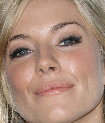 Sienna Miller makeup for Missy!