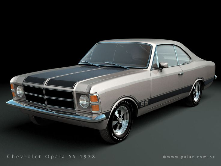 Chevrolet Opala SS 78