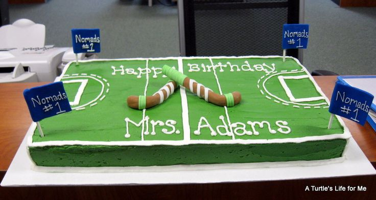 36 Awesome field hockey birthday cake images