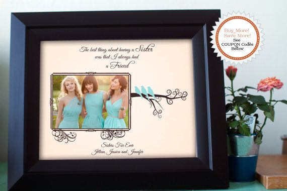 Wedding Gifts For Sisters: Best 25+ Sister Wedding Gifts Ideas On Pinterest
