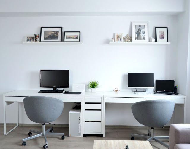 Diseno De Escritorio Image By Maines In 2020 Home Office Design Home Office Space Ikea Home Office