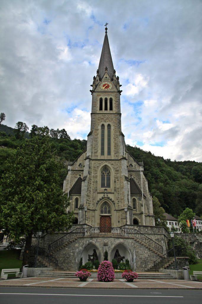 Caterdal de St. Florin, Vaduz - Liechtenstein
