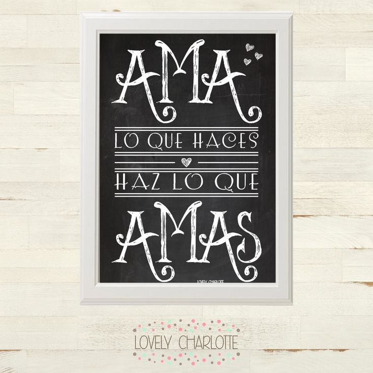Lovely charlotte l mina com mensaje positivo gratis para imprimir printable pinterest - Laminas infantiles para cuadros ...