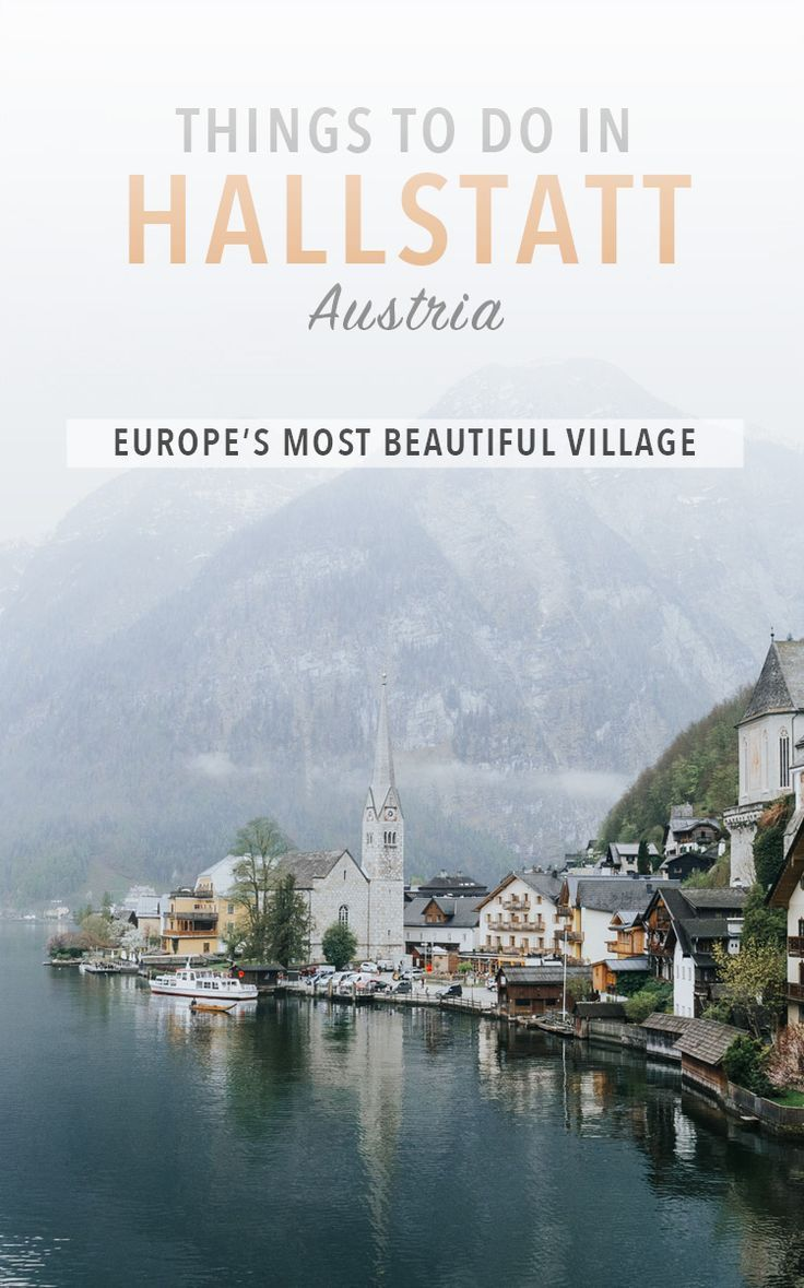 Hallstatt, Austria travel guide and travel tips for your trip to the Salzkammergut region! Things to do in Hallstatt, what to eat, and where to stay.