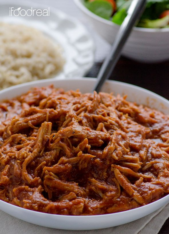 Clean eating pulled pork- no bottle of BBQ sauce
