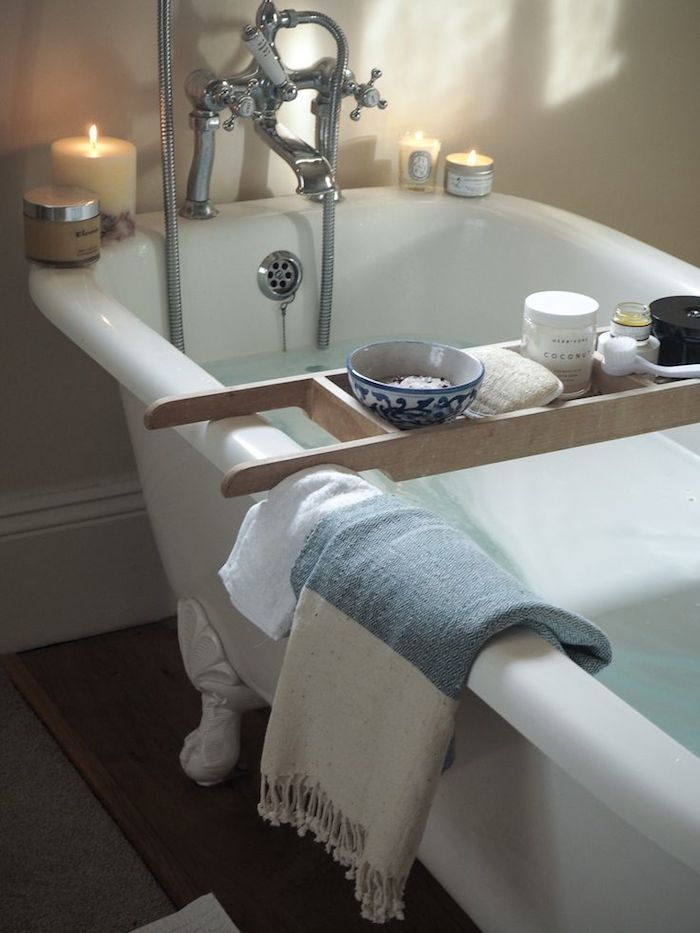 dustjacketattic:   bathtub | fashion me now - smallprettyhouses