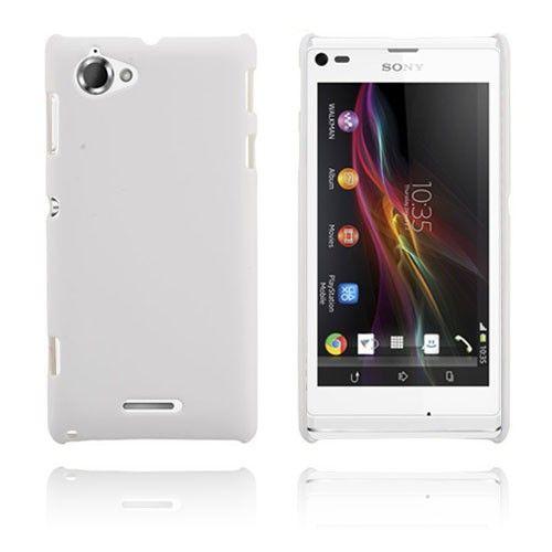 Hard Case (Valkoinen) Sony Xperia L Suojakuori