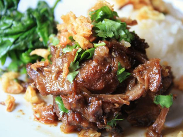 Thai-style Braised Pork Cheeks